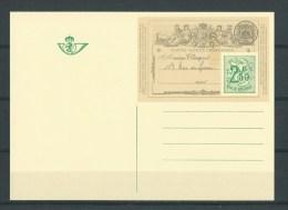 Belgique: Entier Postal Classique N°1 - Postkaarten [1951-..]