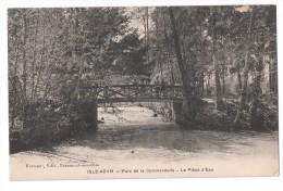 CP, 95, L'ILE-ADAM, Parc De La Commanderie - La Pièce D'Eau, Voyagé - L'Isle Adam