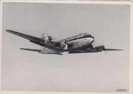Sabena    Douglas DC-6   Ready To Land      Scan 7988 - Vliegtuigen