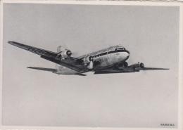 Sabena    Douglas DC-6   Ready To Land      Scan 7988 - Airplanes