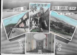 CAMPANIA-BENEVENTO-COLLE SANNITA VEDUTE MULTIPLE ANNI/60 E SALUTI DA - Italie