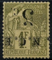 Nouvelle Caledonie (1883) N 10a * (charniere)