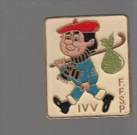 Pin´s -   F.F.S.P.  I V V   MARCHE - Pin