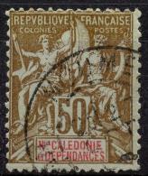 Nouvelle Calédonie (1900) N 63 (o)