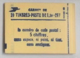 FRANCE CARNET De 20 Timbres 2059 Neufs** N° 2059-C4 -T B E - Carnets