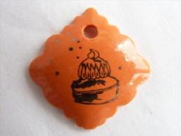FEVE PUBLICITAIRE DALLOYAU - g�teau sur fond orange 2 2013
