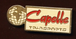 """ CAPELLE Transports ""    Vert Pg12 - Transportation"