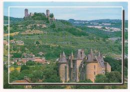 46 - SAINT-CÉRÉ (Lot) - Au Premier Plan, Le Château Du Montal, Au Fond Les Tours De Saint-Laurent - ARTIS EDITIONS 5277 - Andere Gemeenten