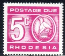 Rhodesia - 1970 Postage Due 5c (**) # SG D20 , Mi 13 - Rhodesia (1964-1980)