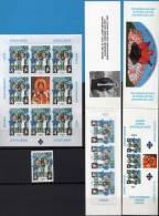 2000 JUGOSLAVIJA   KOSOVO JUGOSLAVIA EUROPA CEPT 2000 CHILDREN - STAMP-MINI SHEET-BOOKLET 3 STAMPS NEVER HINGED - Europa-CEPT