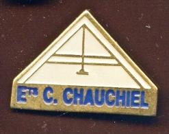 "59 LILLE  "" Ets C. CHAUCHIEL ""    Vert Pg12 - Steden"
