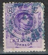 Sello 15 Cts Alfonso XIII Medallon, Carteria Especial LIMPIAS (santander), Num  270 º - 1889-1931 Reino: Alfonso XIII