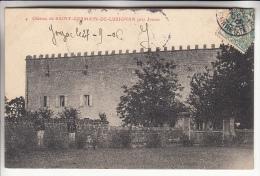 ST GERMAIN DE LUSIGNAN 17 Près Jonzac - Le Chateau  - CPA - Charente Maritime - Francia