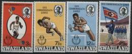 1970 Swaziland, Giochi Del Commonwealth, Serie Completa Nuova (**) - Swaziland (1968-...)