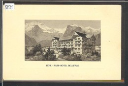 LENK - PARK HOTEL BELLEVUE - TB - BE Berne