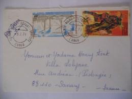 Congo Lettre De Pointe Noire 1979 Pour Sanary - Congo - Brazzaville