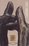 MEXICO - A.Rodin-Manos 1997/El Secreto(1/6), Chip SO3, 03/97, Used - Mexico