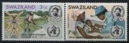 1973 Swaziland, Anniversario OMS, Serie Completa Nuova (**) - Swaziland (1968-...)