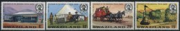 1974 Swaziland, Centenario UPU , Serie Completa Nuova (**) - Swaziland (1968-...)