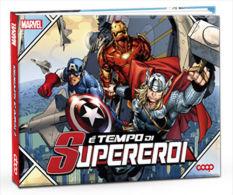 COMPLETE ALBUM (FIGURINE TRADING CARDS) OF MARVEL SUPERHEROES (160 CARDS !) E' TEMPO DI SUPEREROI - Marvel