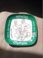 Cendrier Publicitaire Bière Olympia - Metal