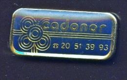 "59 Villeneuve-d'Ascq "" CADONOR ""    Vert Pg12 - Steden"