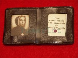 Reliquaire De Poche (Relique De Mère D´youville ) Relic Reliquia 2 Scans - Religione & Esoterismo