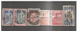 77402) 1928 4° Cent. Nascita Emanuele Filiberto - 6- Valori Usati  N. 230-35 - 1900-44 Victor Emmanuel III