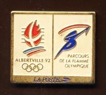 """"""" LA POSTE  """" Alberville 92 Le Parcours De La Flamme   Vert Pg15 - Telecom De Francia"""