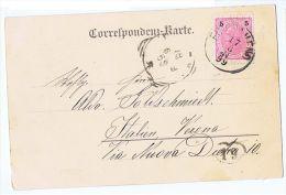 AUSTRIA - GRUSS AUS FISCHAMEND - MARKTTHURM - EDIT OTTO FUHRMANN - 1899 - Otros