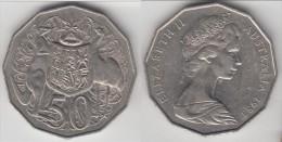 **** AUSTRALIE - AUSTRALIA - 50 CENTS 1983 ELISABETH II **** EN ACHAT IMMEDIAT !!! - Monnaie Décimale (1966-...)