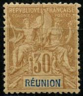 Reunion (1892) N 40 * (charniere)