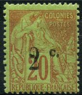 Reunion (1893) N 45 * (charniere)