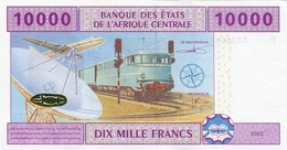 CENTRAL AFRICAN STATES P. 410A 10000 F 2002 UNC - Gabon