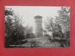 RPPC  - New Hampshire>  Lancaster  Observation Tower   Ref 1376 - Vereinigte Staaten
