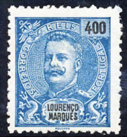 !■■■■■ds■■ L.Marques 1903 AF#76* Mouchon New Colors 400 Réis (x8927) - Lourenco Marques