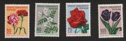 Turkey 1960 Flowers, MNH AJ.074 - 1921-... Republic