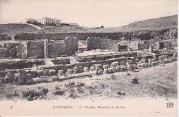 PC Carthage - Le Théâtre Romain, La Scène (6334) - Tunesien