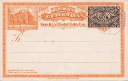 GUATEMALA 1895? - 3 Centavos Ganzsache Guatemala Nicht Gelaufen - Guatemala