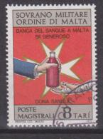 SMOM Sovereign Military Order Of Malta Mi 109 Blood Bank - 1975 - Malta (Orde Van)