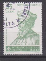 SMOM Sovereign Military Order Of Malta Mi 246 - Grand Masters - Auger De Balben - 1986 - Malta (Orde Van)