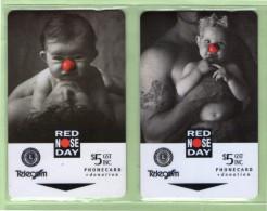 New Zealand - 1994 Red Nose Day - Set (2) - NZ-F-15/16 - Mint - Neuseeland