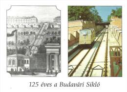 FUNICULAR RAILWAY * RAIL * RAILROAD * TRAIN * BKV * BUDAPEST * Budavari Siklo * Hungary - Funiculares