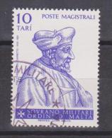 SMOM Sovereign Military Order Of Malta Mi 191 - Grand Masters - Fra' Fabrice Del Carretto - 1981 - Malta (Orde Van)