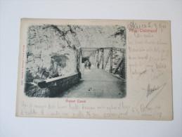 Ansichtskarte 1901 Vrbas - Thalstrasse Grosser Tunnel. Österreich / Bosnien Herzegowina - Bosnien-Herzegowina