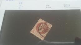 LOT 212831 TIMBRE DE FRANCE OBLITERE N�26