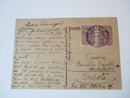 Österreich 1920 Ganzsache Mit Zusatzfrankatur Gesendet Nach Trieste. - Entiers Postaux
