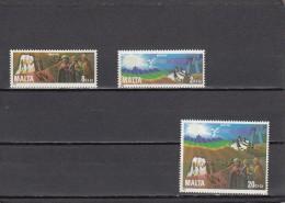Malta Nº 654 Al 656 - Malta