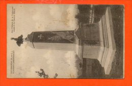 71 IGUERANDE : Monument Commémoratif - Guerre 1914-1918 (état : Pliée - France