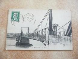 ANCENIS - Le Pont - (Rare Sous Cet Angle) - Ancenis
